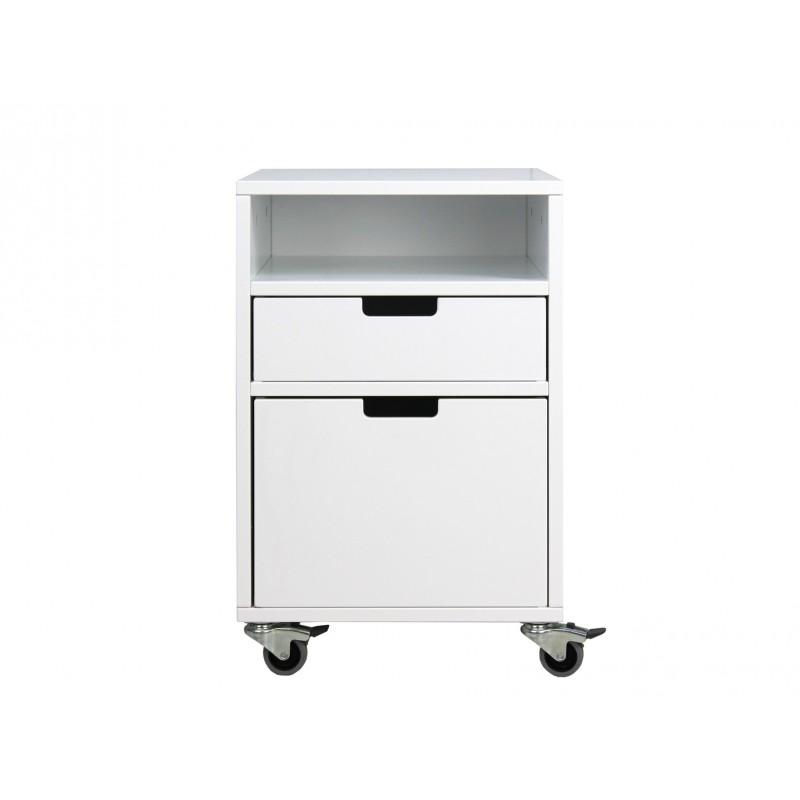 Bopita Table à tiroirs à roulettes mix & match blanc (1 tiroir vendu séparément 5946xx) bopita