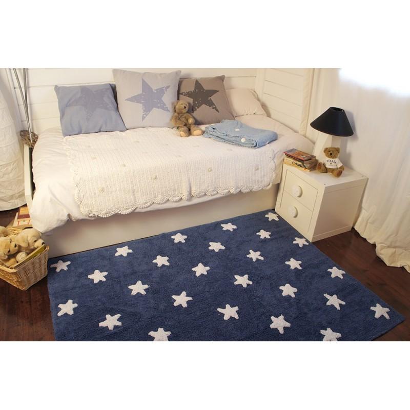 Tapis chambre bébé Tapis étoiles lorena canals