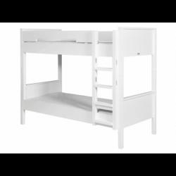Lits Set de montage lits superposés combiflex blanc avec échelle droite bopita