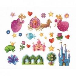 Stickers muraux Princesse...