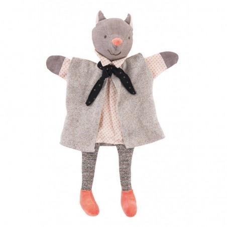 Marionnette chat le galant il était une fois moulin roty