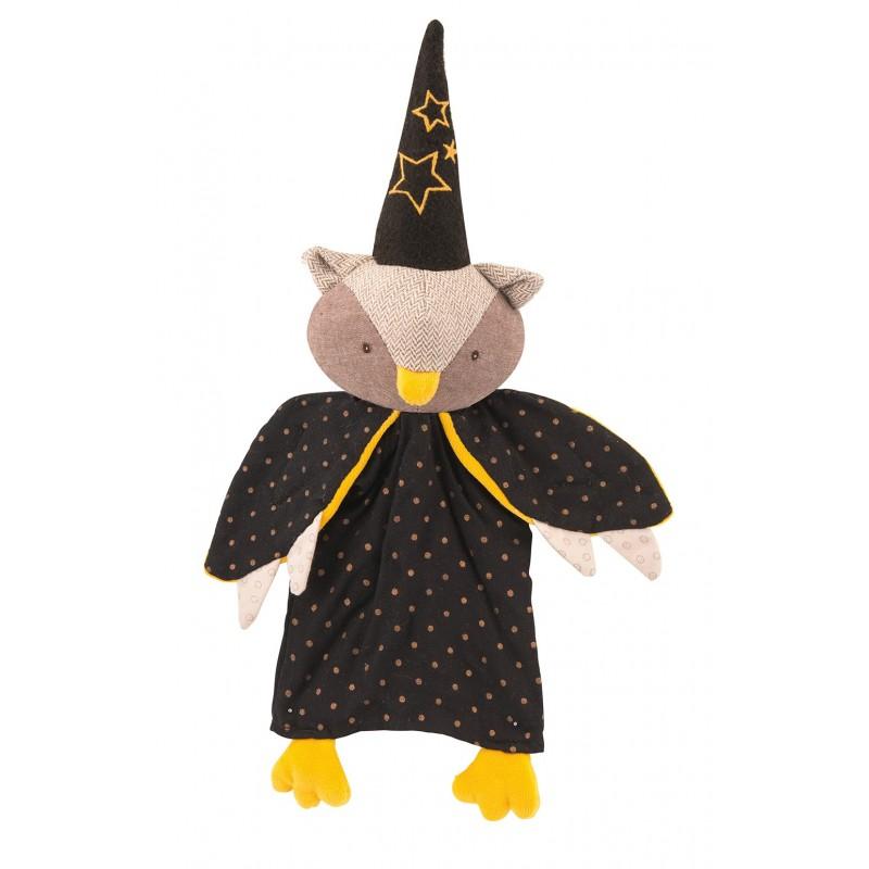 Marionnettes Marionnette hibou le magicien il était une fois moulin roty