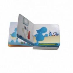 Livre éveil bébé Les Lilliputiens Arnold mini livre