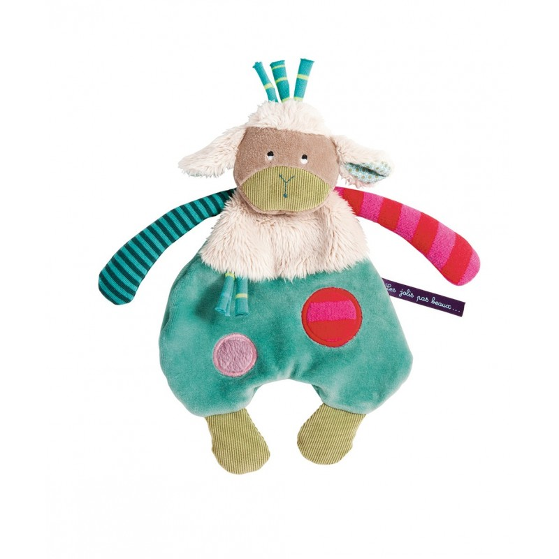 Doudous Doudou mouton jolis pas beaux moulin roty