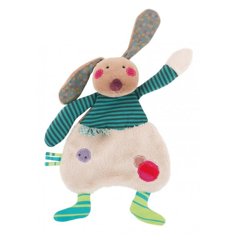 Doudous Doudou lapin jolis pas beaux moulin roty