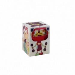 Cubes / Puzzles Les Lilliputiens Circus Recreabox'