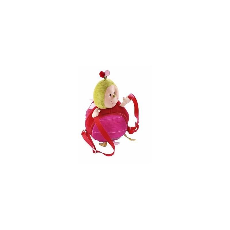 Sac à dos Les Lilliputiens Coccinelle sac à dos doux