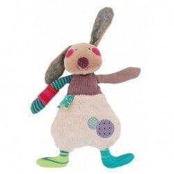 Peluches / coussin musical Poupée lapin jolis pas beaux moulin roty