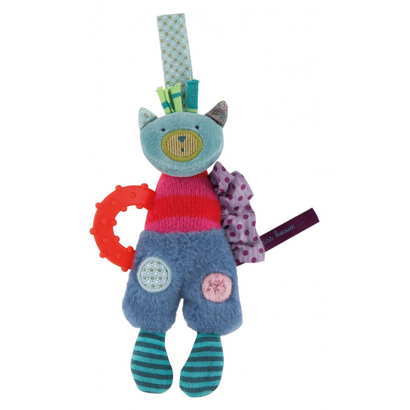 Moulin Roty Chat anneau dentaire jolis pas beaux moulin roty