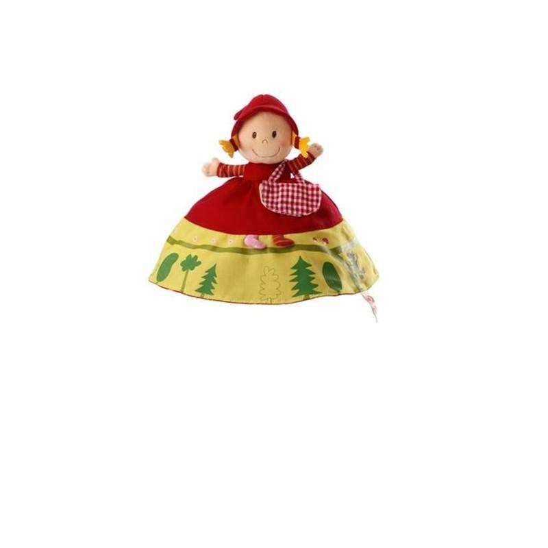 Poupées et peluches Les Lilliputiens Marionnette réversible Chaperons rouge