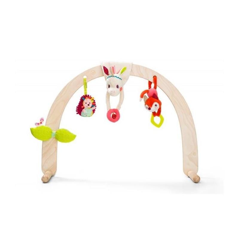 Tapis éveil et arches Lilliputiens Arche en bois