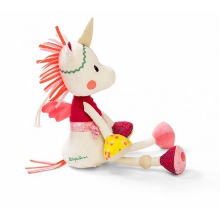 Peluches / coussin musical Lilliputiens Louise licorne veilleuse musicale