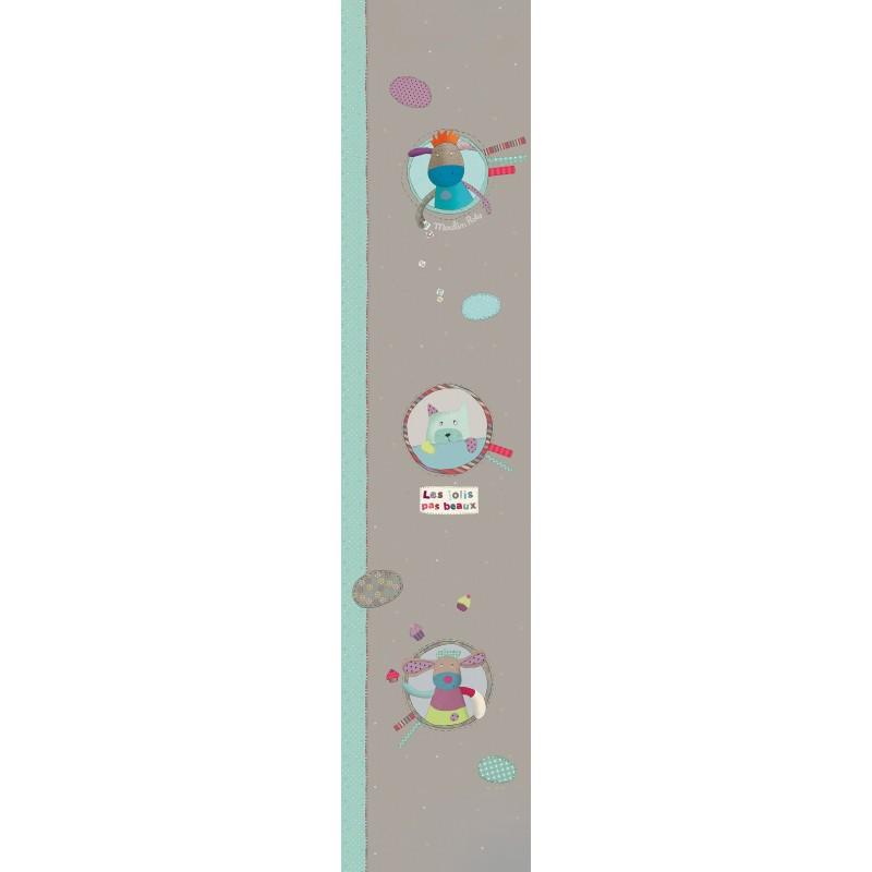 Frise / Sticker mural Décor mural les jolis pas beaux , lé de 0.60 x 2.80 m moulin roty
