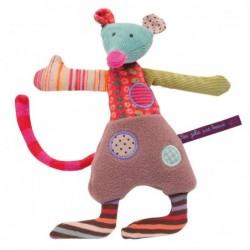 Peluches / coussin musical La petite souris les jolis pas beaux moulin roty