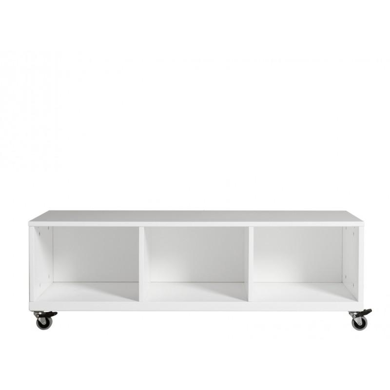 Bopita Petite armoire à roulettes niki blanc (3 tiroirs 5946xx vendus séparément) bopita