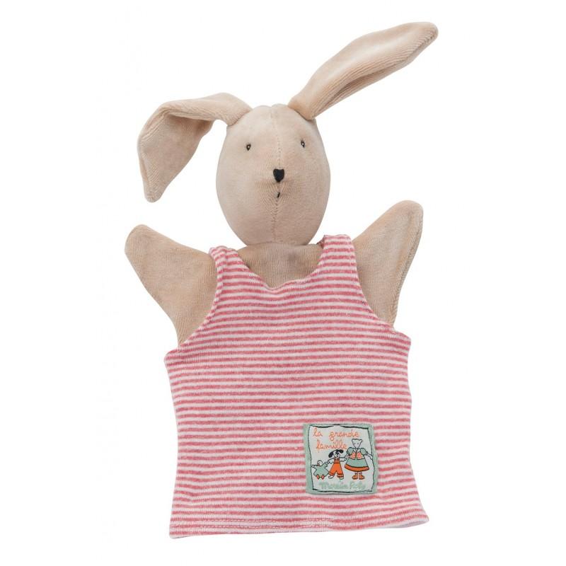 Marionnettes Sylvain le lapin les marionnettes moulin roty