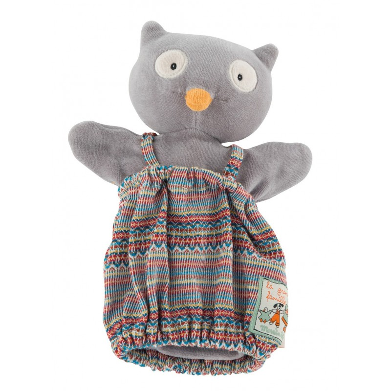 Marionnettes Isidore le hibou les marionnettes moulin roty
