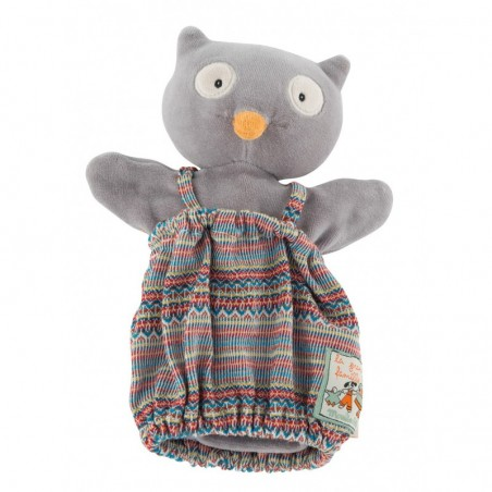 Isidore le hibou les marionnettes moulin roty