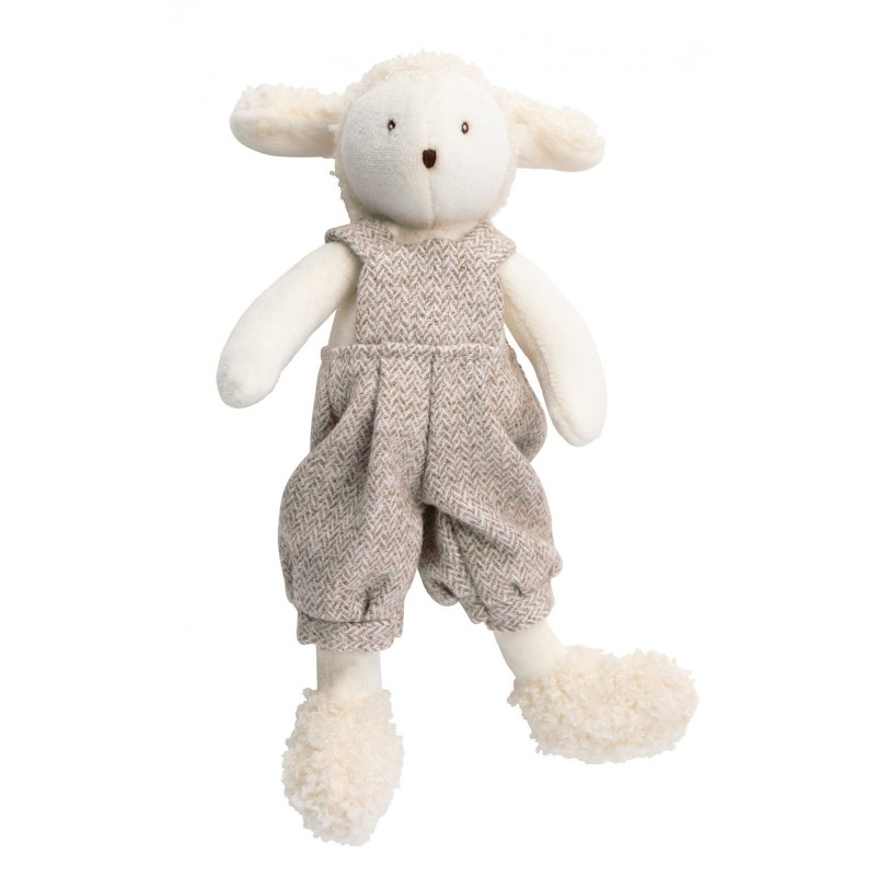 Peluches / coussin musical Albert le mouton les tout-petits moulin roty