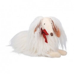 Moulin Roty Chien blanc scarlette les coquettes moulin roty
