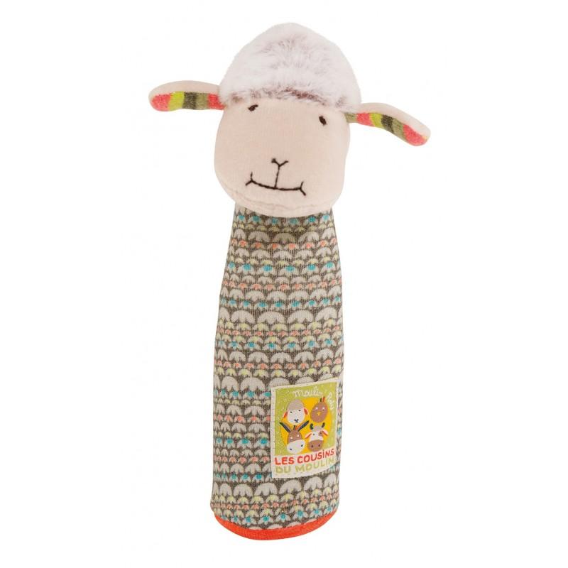 Hochets Hochet pouet mouton les cousins du moulin moulin roty