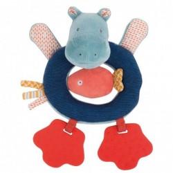 Anneau-hochet hippopotame...