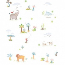 Papier peint animaux les...