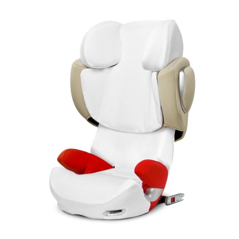 Housse éponge siège auto Housse d'été Siège auto Solution Q3 white Cybex