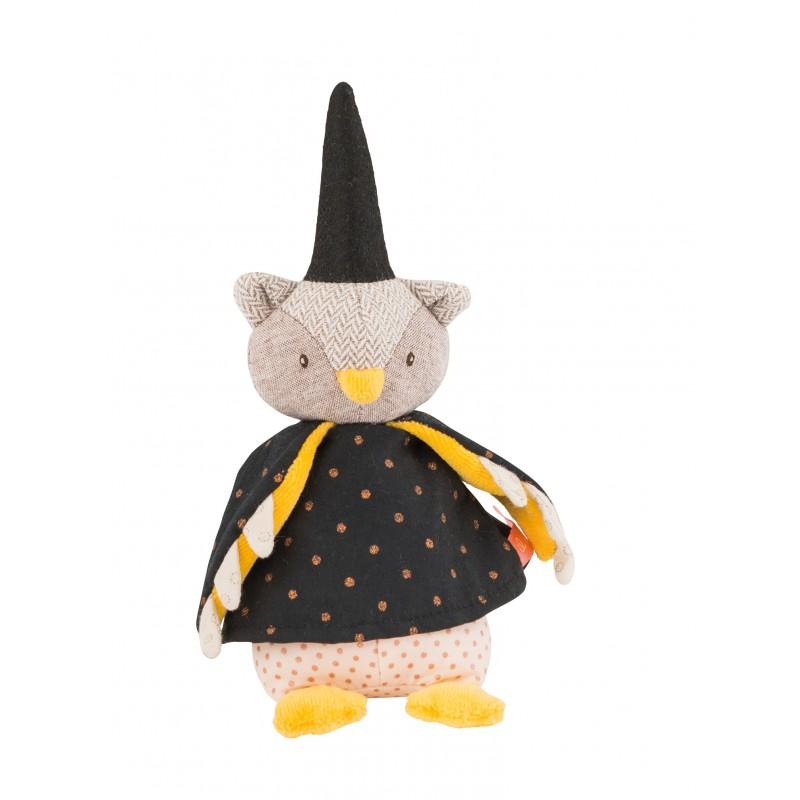 Moulin Roty Mini poupée hibou le magicien il était une fois moulin roty