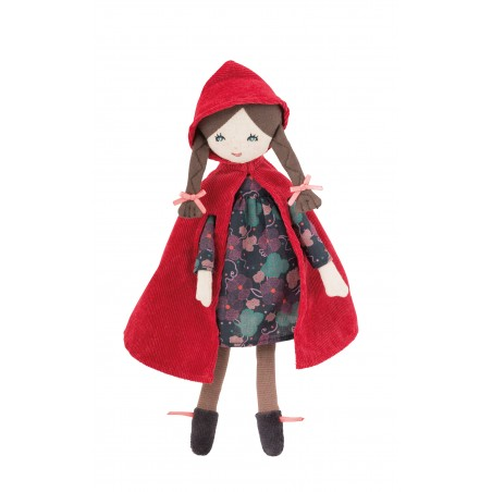 Mini poupée le petit chaperon rouge il était une fois moulin roty