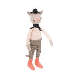 Moulin Roty Mini poupée chat le galant il était une fois moulin roty
