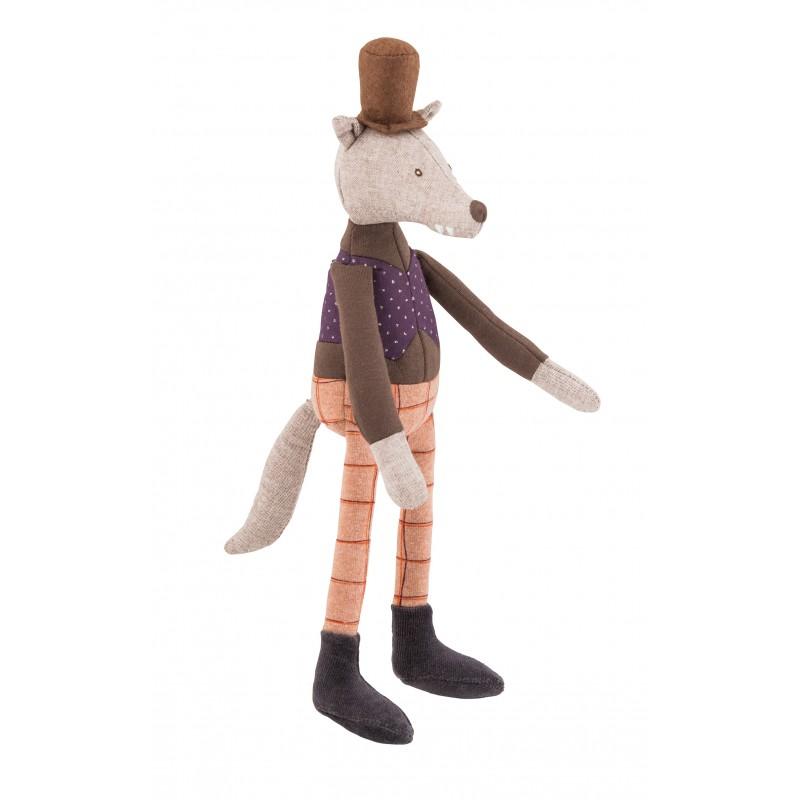 Moulin Roty Mini poupée loup le gentleman il était une fois moulin roty