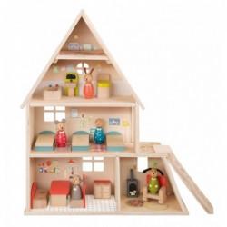 Maison de poupée avec...