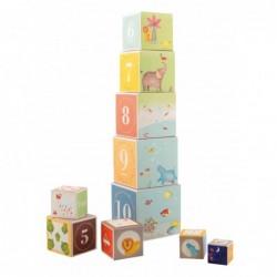 Cubes empilables Les Papoum