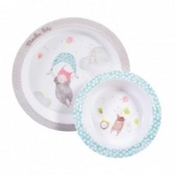 Set vaisselle Les Petits dodos