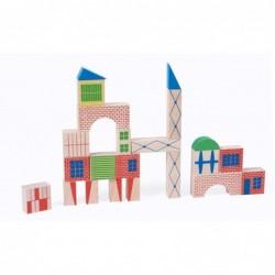 Moulin Roty Jeu de construction (40 pièces) Dans la ville