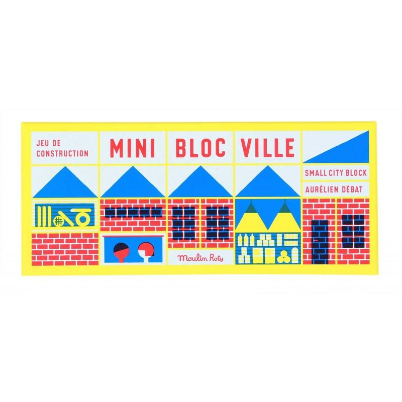 moulin roty mini jeu de construction 23 pi ces dans la ville. Black Bedroom Furniture Sets. Home Design Ideas