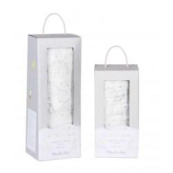 Lange blanc 120 x 120 cm...