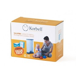 Korbell Nappy Bin Recharges...