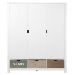 Armoire 3 portes basic wood...
