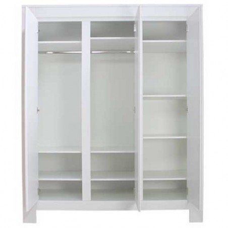 Armoire 3 portes bianco blanc bopita Bopita