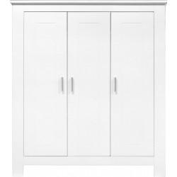 Armoire 3 portes cobi blanc...