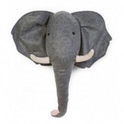 Déco murale feutre éléphant...
