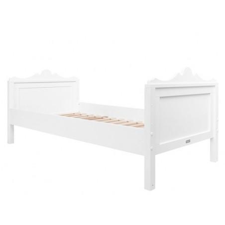 Lit de base 90x200 belle blanc bopita Bopita