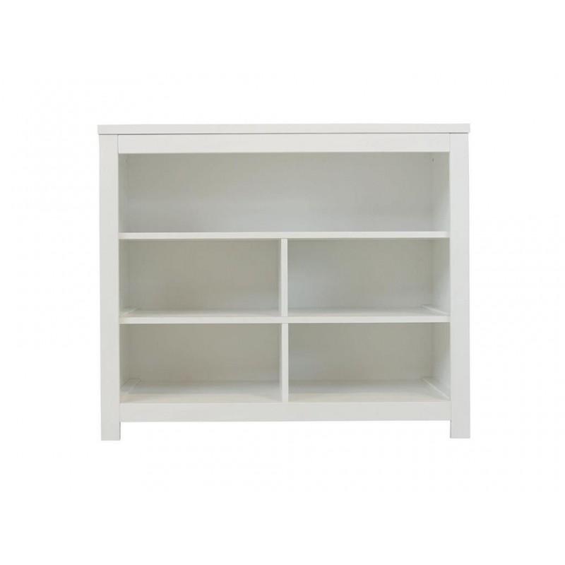 Placard double 5 compartiments ouverts basic wood white tiroirs 135107xx vendus séparément bopita Bopita