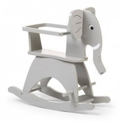Rocking elefant gris childhome