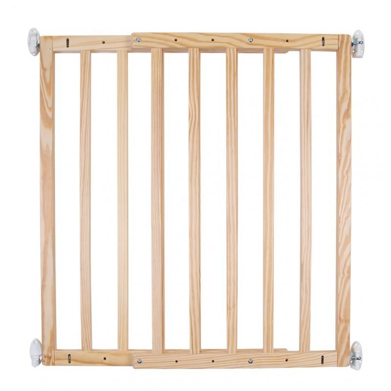 Barrières escalier et extension Barriere de porte bois natural extendo childhome