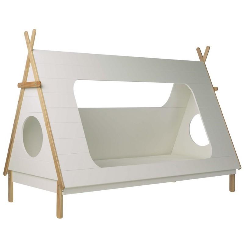 lit junior lit tipi. Black Bedroom Furniture Sets. Home Design Ideas