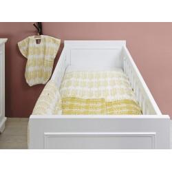 Lit bébé Lit-cot 70x140 charlotte blanc bopita