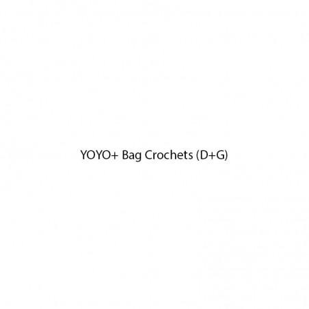 Pièces détachées poussette BABYZEN YOYO+ Bag Crochets (D+G)